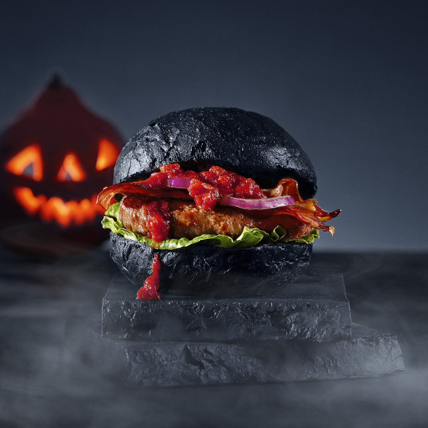 Halloween Hamburger